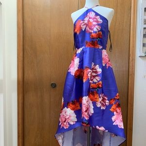 A. Byer High Low Dress